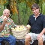 Uncle Herbert Enjoys Ripe Noni With CEO David Backstrom